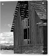 Montana Weathered Barn Acrylic Print