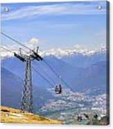 Monte Tamaro - Switzerland Acrylic Print