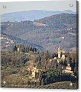 Montegufoni Castle Acrylic Print
