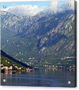 Montenegro's Black Mountains Acrylic Print