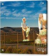 Monterey Farmers Acrylic Print