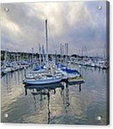 Monterey Harbor Marina - California Acrylic Print