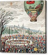 Montgolfier Balloon Le Flesselles Acrylic Print