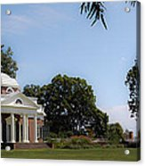 Monticello Grounds Acrylic Print