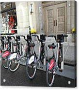 Montreal Bicycles Acrylic Print