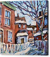 Montreal Scene 03 By Prankearts Acrylic Print