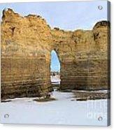 Monument Rocks Arch Acrylic Print
