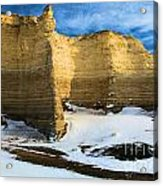 Monument Rocks Castle Acrylic Print