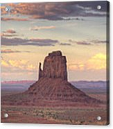 Monument Valley - East Mitten Butte Acrylic Print