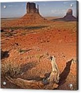 Monument Valley, Kayenta, Arizona, Usa Acrylic Print