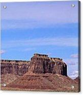 Monument Valley Mesa  Acrylic Print