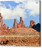 Monument Valley Totem Pole Acrylic Print