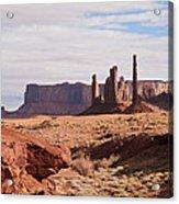 Monument Valley Totem Pole Acrylic Print