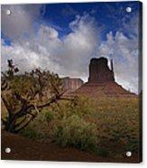 Monument Valley Vista Acrylic Print