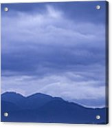 Moody Sky At Dawn Acrylic Print
