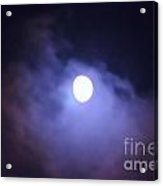 Moon 5 Acrylic Print