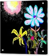 Moon Garden Acrylic Print