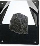 Moon Rock Sample Acrylic Print by Detlev Van Ravenswaay