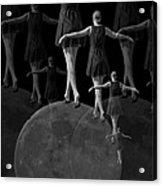 Moon Walking Acrylic Print