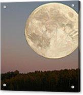 Moon Warrior Acrylic Print