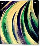 Moonlight In Water Fall Acrylic Print
