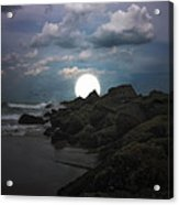 Moonlight Tonight Acrylic Print by Tom York Images