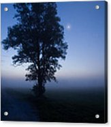 Moonlit Dawn Acrylic Print
