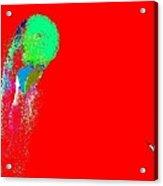 Moonrain Red 22 Acrylic Print