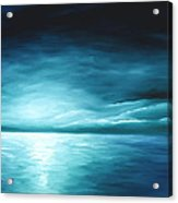 Moonrise II Acrylic Print by James Christopher Hill