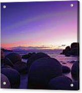 Moonrise Over Tahoe Acrylic Print