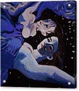 Moonwaters Acrylic Print by Adam Kissel