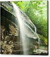 Moore Cove Falls Acrylic Print
