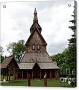 Moorhead Stave Church 1 Acrylic Print