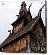 Moorhead Stave Church 11 Acrylic Print