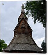 Moorhead Stave Church 7 Acrylic Print