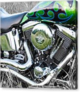 More Chrome 2 Acrylic Print