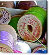 More Loose Threads Acrylic Print