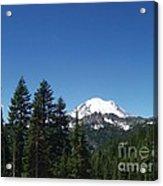 More Mt Rainier Acrylic Print