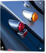 Morgan Plus 8 Tail Lights Acrylic Print