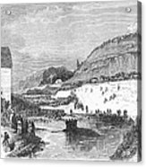 Mormon Baptismal, 1873 Acrylic Print