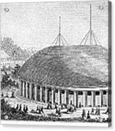 Mormon Tabernacle, 1870 Acrylic Print