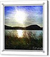 Morning At The Lake Acrylic Print