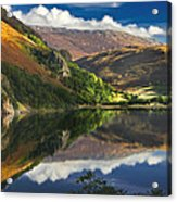 morning by Llyn Gwynant Acrylic Print