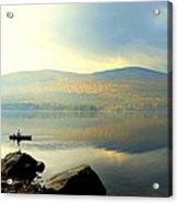 Morning Fisherman Acrylic Print