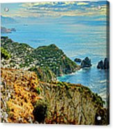 Morning In Capri Acrylic Print