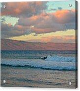 Morning In Maui Acrylic Print