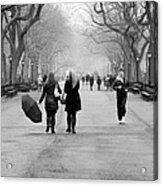 Morning In The Mall Acrylic Print