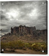 Morning In The Supes  Acrylic Print