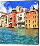 Morning In Venice Acrylic Print