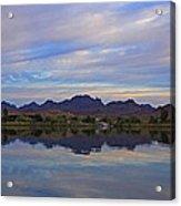 Morning Light On The River Acrylic Print